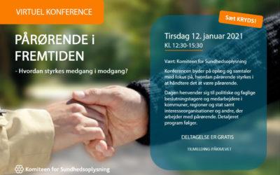 KONFERENCE 12. januar 2021 – Pårørende i fremtiden